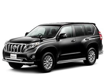 Защита переднего бампера двойная d63/63мм для Toyota Land Cruiser Prado 150 (2014 -) ПТ Групп 9020101