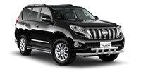 Защита переднего бампера двойная с пластинами d63/63мм для Toyota Land Cruiser Prado 150 (2014 -) ПТ Групп 9020102