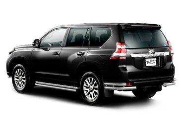 Защита штатных порогов d51мм для Toyota Land Cruiser Prado 150 (2014 -) ПТ Групп 9020201