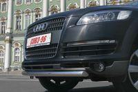 Защита переднего бампера d76 на Audi Q7 (2006 -) СОЮЗ-96 AUDQ.48.0335