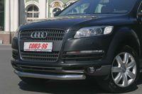 Защита переднего бампера d60 на Audi Q7 (2006 -) СОЮЗ-96 AUDQ.48.0336