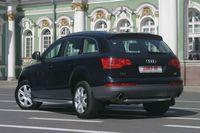 """Защита задняя """"труба"""" d60 на Audi Q7 (2006 -) СОЮЗ-96 AUDQ.75.0343"""