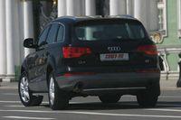 """Защита задняя """"труба"""" d42 на Audi Q7 (2006 -) СОЮЗ-96 AUDQ.75.0344"""