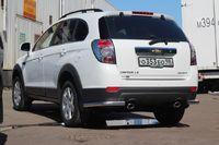 """Защита задняя """"уголки"""" d60 на Chevrolet Captiva (2011 -) СОЮЗ-96 CCAP.76.1517"""