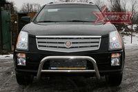 Решетка передняя мини d60 низкая на Cadillac SRX (2007 -) СОЮЗ-96 CDRX.56.0611