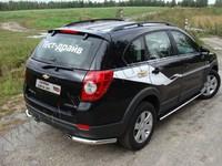 "Защита задняя ""уголки"" 60,3 мм на Chevrolet Captiva (2012 -) ТСС CHEVCAP12-07"