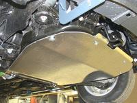 Защита картера (алюминий) 4 мм для Chevrolet Captiva (2013 -) ТСС CHEVCAP13-07