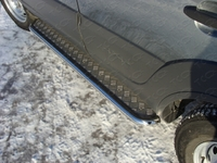 Пороги с площадкой 42,4 мм на Chevrolet Niva (2009 -) ТСС CHEVNIV12-03