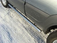 "Пороги ""труба"" 60,3 мм на Chevrolet Niva (2009 -) ТСС CHEVNIV12-04"