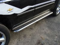 Пороги с площадкой 60,3 мм на Chevrolet Tahoe (2012 -) ТСС CHEVTAH12-02