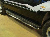 Защита порогов 42,4 мм на Chevrolet Tahoe (2012 -) ТСС CHEVTAH12-04