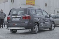 Защита заднего бампера d60 на Chevrolet Orlando (2011 -) СОЮЗ-96 CHOR.75.1592