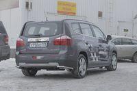 """Защита задняя """"уголки"""" d42 на Chevrolet Orlando (2011 -) СОЮЗ-96 CHOR.76.1590"""