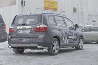"""Защита задняя """"уголки"""" d60 на Chevrolet Orlando (2011 -) СОЮЗ-96 CHOR.76.1591"""