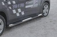 Пороги с проступями d76 на Chevrolet Orlando (2011 -) СОЮЗ-96 CHOR.81.1589