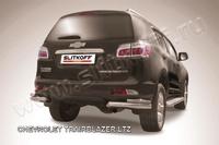 Уголки d76+d42 двойные для Chevrolet TrailBlazer (2012 -) Слиткофф CHTB12-014