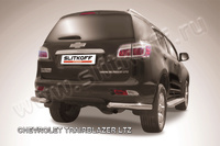 Уголки d76 для Chevrolet TrailBlazer (2012 -) Слиткофф CHTB12-015