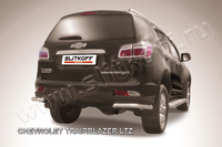 Уголки d57 для Chevrolet TrailBlazer (2012 -) Слиткофф CHTB12-017