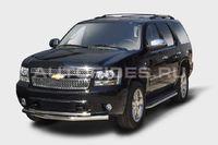 "Защита переднего бампера ""труба"" d76/42 двойная на Chevrolet Tahoe (2012 -) СОЮЗ-96 CHTH.48.1412"