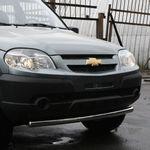 "Защита переднего бампера ""труба"" d60 на Chevrolet Niva (2009 -) СОЮЗ-96 CN09.48.0845"