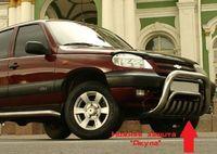 "Защита нижняя ""акула"" d60 на Chevrolet Niva (2009 -) СОЮЗ-96 CN09.59.0849"