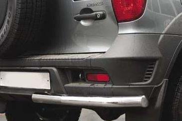 "Защита задняя ""уголки"" d60 на Chevrolet Niva (2009 -) СОЮЗ-96 CN09.76.0853"