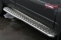 Пороги с листом d42 на Chevrolet Niva (2009 -) СОЮЗ-96 CN09.82.0851