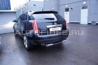 "Защита задняя ""ступень"" d76 на Cadillac SRX (2011 -) СОЮЗ-96 CSRX.77.1360"