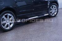 Пороги с проступями d76 на Cadillac SRX (2011 -) СОЮЗ-96 CSRX.81.1356