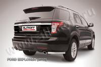 Уголки d57 для Ford Explorer (2011 -) Слиткофф FEX011