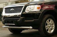 "Защита переднего бампера d76 ""труба"" на Ford Explorer (2006 -) СОЮЗ-96 FEXP.48.0389"