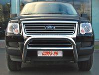 Решетка передняя мини d76 низкая на Ford Explorer (2006 -) СОЮЗ-96 FEXP.56.0387