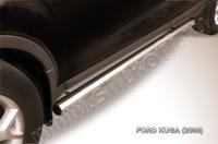 Пороги d76 труба  для Ford Kuga (2008 -) Слиткофф FKG008