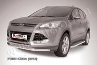 Защита переднего бампера d76 для Ford Kuga (2013 -) Слиткофф FKG13-002