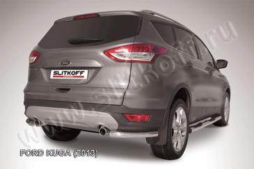 Уголки d57 для Ford Kuga (2013 -) Слиткофф FKG13-009
