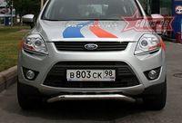 Защита передняя нижняя d60 на Ford Kuga (2008 -) СОЮЗ-96 FKUG.59.0686