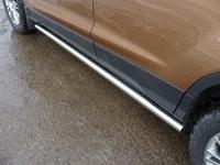 "Пороги ""труба"" 60,3 мм на Ford Kuga (2013 -) ТСС FORKUG13-06"
