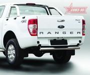 Защита задняя ступень d76 для Ford Ranger (2013 -) СОЮЗ-96 FRAN.77.1769