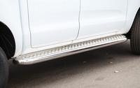 Пороги с листом d76 для Ford Ranger (2013 -) СОЮЗ-96 FRAN.82.1766