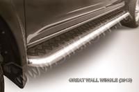 """Пороги d 57 с листом """"чёрный квинтет"""" для Great Wall Wingle (2013 -) Слиткофф GWWIN-013"""