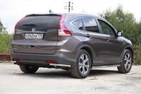 Защита задняя уголки d42 для Honda CR-V (2013 -) СОЮЗ-96 HCRV.76.1781