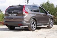 Защита задняя уголки d60 для Honda CR-V (2013 -) СОЮЗ-96 HCRV.76.1782