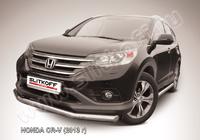 Защита переднего бампера d76 для Honda CR-V (2013 -) Слиткофф HCRV13-002