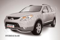 """Защита переднего бампера d57 """"волна"""" для Hyundai ix55 (2008 -) Слиткофф HI55-001"""