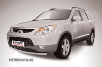 Защита переднего бампера d57  для Hyundai ix55 (2008 -) Слиткофф HI55-003