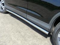 "Пороги ""труба"" 60,3 мм на Honda CR-V (2012 -) ТСС HONCRV13-11"