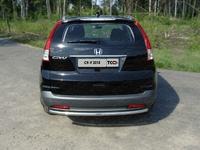 Защита задняя (центральная) 50,8 мм на Honda CR-V (2012 -) ТСС HONCRV13-16