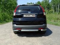 Защита задняя (центральная) 60,3 мм на Honda CR-V (2012 -) ТСС HONCRV13-19