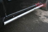 "Пороги ""труба"" d76 на Honda Pilot (2008 -) СОЮЗ-96 HPIL.80.0720"