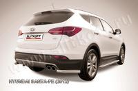 Уголки d57 для Hyundai Santa Fe (2012 -) Слиткофф HSFT12-011